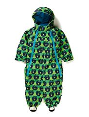 Snowsuit, 2 zipper - Apple Green