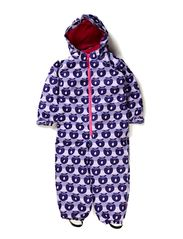 Snowsuit, 1 zipper - Lt. Purple