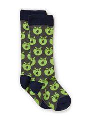 Socks Apples - Navy