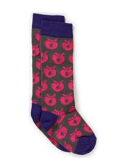 Socks Apples - Purple
