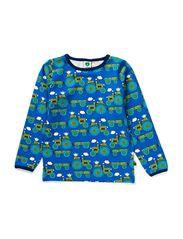 T-shirt LS. Tractor - Blue