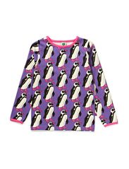 T-shirt LS. Pinguin - M. Purple