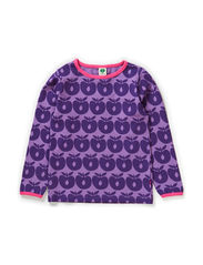 T-shirt LS. Apples - M. Purple
