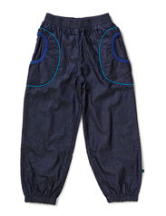 Pants Baggy Denim - Navy