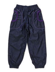 Pants Baggy Denim - Purple