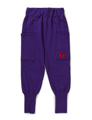 Loose Sweat Pants - Purple