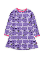 Dress LS. Cat - Lt. Purple