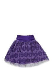 Skirt Tulle Apples - M. Purple