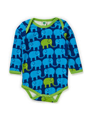 Body LS. Twin elephants - Navy