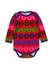 Body LS. Multi Apples - Red