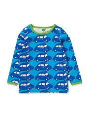 Baby T-shirt LS. Cars - Turquise