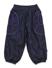 Baby Denim Pants - Purple