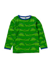 T-shirt LS, Dino - Green
