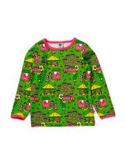 T-shirt LS, Tivoli - Apple Green