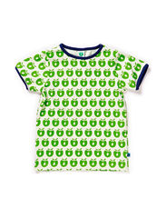 T-shirt SS, Small Apples - Apple Green