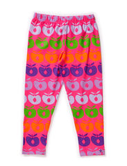 Leggings Multi Apples - Pink