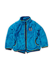 Fleece zipper - Turquise