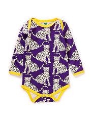 Body LS, Leopard - Purple