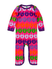 Body Suit, Multi apples - Pink