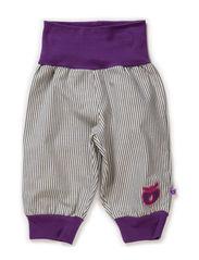 Baby Pants Stripes - Purple