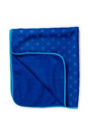 Baby blanket, Fleece, Embossed - Blue