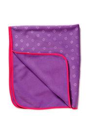 Baby blanket, Fleece, Embossed - M. Purple