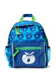 Backpack with Apples - Navy