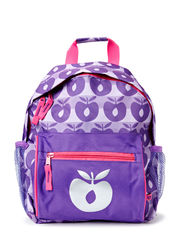 Backpack with Apples - Purple