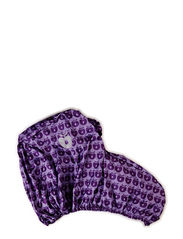 Pram raincover, Apples - M. Purple