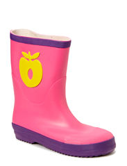 Rubber boot, Big apple - Pink