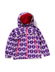 Spring Jacket Apples, waterproof 3.000mm - Lt. Purple