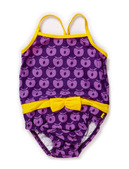 Swimwear, Suit baby, Apples - Purple