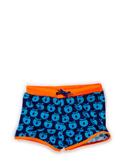 Swimwear, Pants, Apples - Navy