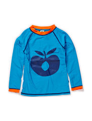 Swimwear, T-shirt big apple - Turquise