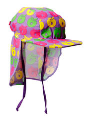 Swimwear, Sun cap, Multi - M. Purple