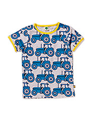 T-Shirt SS. Tractor - Grey Mix