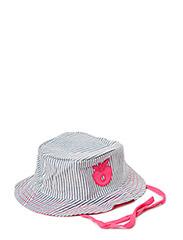 Sun Hat. Denim - Pink