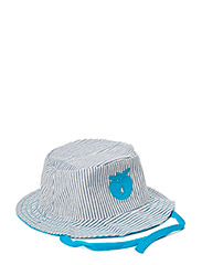 Sun Hat. Denim - Turquise