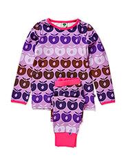Night wear. Multi apples - M. Purple