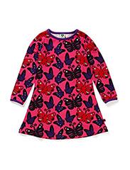 Night dress. Butterflies - Pink