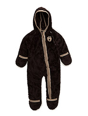 Baby Fleece Suit - D.BROWN
