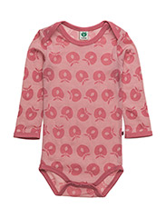 Body LS Merino Wool. Apples - BLUSH