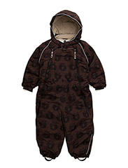 Snowsuit, 2 zipper. Apples - BISON