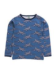 T-shirt LS. Tractor - M. BLUE