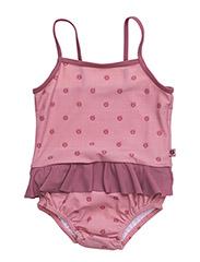 Swimwear baby, Suit. Apples - BLUSH