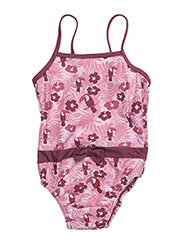 Swimwear baby Suit. Toucan - PALE LILAC