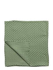 Burp Cloth. GOTS - ASPEN GREEN