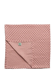 Burp Cloth. GOTS - BRIDAL ROSE