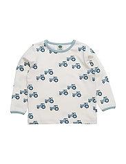 T-shirt LS. Tractor - CREAM