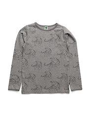 T-shirt LS. Tiger - GREY MIX